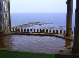 黄金崎不老ふ死温泉の風呂