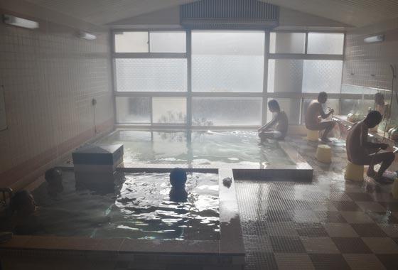 湯らくの宿のしろの温泉