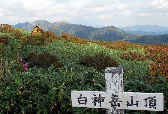 世界遺産白神山地の白神岳・二ツ森と花の百名山の森吉山を巡る登山ツアー3日間